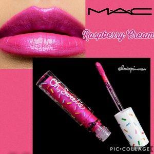 💋MAC Cosmetics Oh Sweetie Raspberry Cream lip